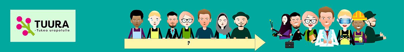 Course Image Askeleita urapolulla - omat vahvuudet ja oman ammattialan osaamisvaatimukset